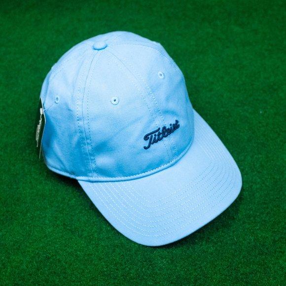 NWT Titleist Baby Blue w/ Navy Dad Hat